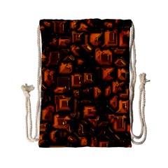 Metalart 23 Orange Drawstring Bag (Small)