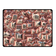 Metalart 23 Peach Fleece Blanket (Small)