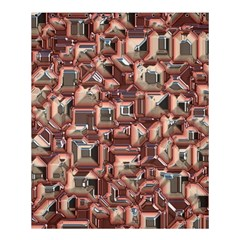 Metalart 23 Peach Shower Curtain 60  X 72  (medium)
