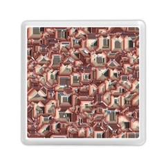 Metalart 23 Peach Memory Card Reader (square)