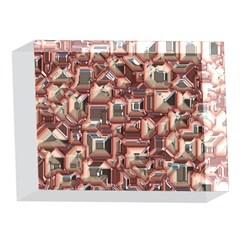 Metalart 23 Peach 5 x 7  Acrylic Photo Blocks