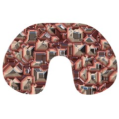 Metalart 23 Peach Travel Neck Pillows