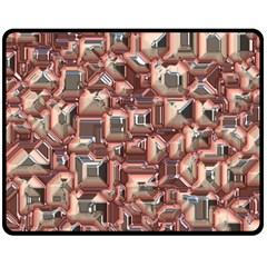 Metalart 23 Peach Double Sided Fleece Blanket (Medium)