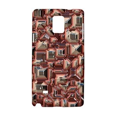 Metalart 23 Peach Samsung Galaxy Note 4 Hardshell Case