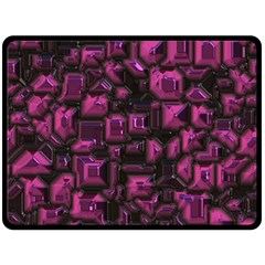 Metalart 23 Pink Fleece Blanket (large)