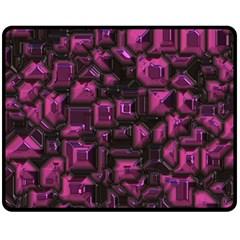 Metalart 23 Pink Fleece Blanket (Medium)