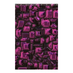 Metalart 23 Pink Shower Curtain 48  x 72  (Small)