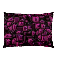 Metalart 23 Pink Pillow Cases (Two Sides)