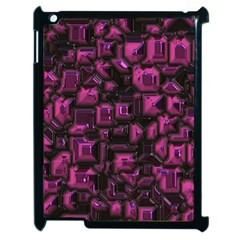 Metalart 23 Pink Apple iPad 2 Case (Black)