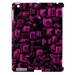 Metalart 23 Pink Apple iPad 3/4 Hardshell Case (Compatible with Smart Cover)