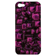 Metalart 23 Pink Apple iPhone 5 Hardshell Case