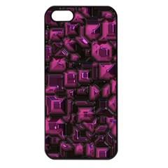 Metalart 23 Pink Apple iPhone 5 Seamless Case (Black)