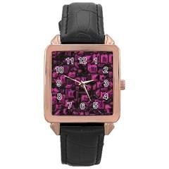 Metalart 23 Pink Rose Gold Watches