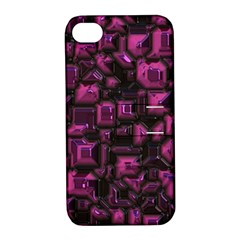 Metalart 23 Pink Apple iPhone 4/4S Hardshell Case with Stand