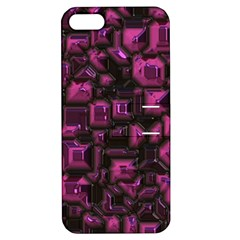 Metalart 23 Pink Apple iPhone 5 Hardshell Case with Stand