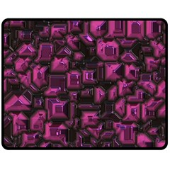Metalart 23 Pink Double Sided Fleece Blanket (Medium)