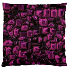 Metalart 23 Pink Standard Flano Cushion Cases (Two Sides)