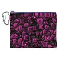 Metalart 23 Pink Canvas Cosmetic Bag (XXL)