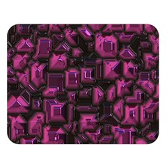 Metalart 23 Pink Double Sided Flano Blanket (Large)