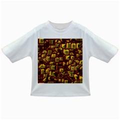Metalart 23 Red Yellow Infant/toddler T Shirts