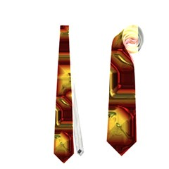 Metalart 23 Red Yellow Neckties (two Side)