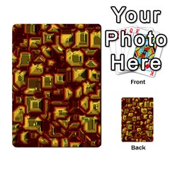 Metalart 23 Red Yellow Multi-purpose Cards (Rectangle)