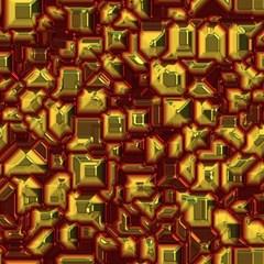Metalart 23 Red Yellow Magic Photo Cubes