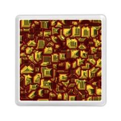 Metalart 23 Red Yellow Memory Card Reader (square)