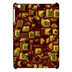 Metalart 23 Red Yellow Apple iPad Mini Hardshell Case