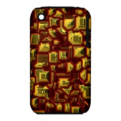 Metalart 23 Red Yellow Apple iPhone 3G/3GS Hardshell Case (PC+Silicone)