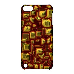 Metalart 23 Red Yellow Apple iPod Touch 5 Hardshell Case with Stand