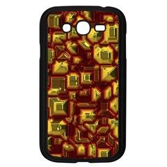 Metalart 23 Red Yellow Samsung Galaxy Grand DUOS I9082 Case (Black)