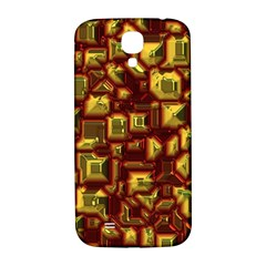 Metalart 23 Red Yellow Samsung Galaxy S4 I9500/I9505  Hardshell Back Case