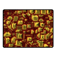 Metalart 23 Red Yellow Double Sided Fleece Blanket (Small)