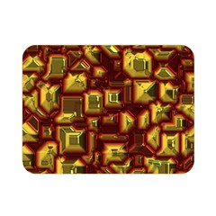 Metalart 23 Red Yellow Double Sided Flano Blanket (mini)