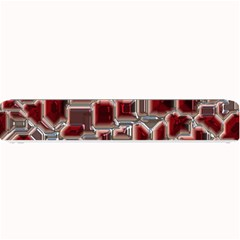 Metalart 23 Red Silver Small Bar Mats
