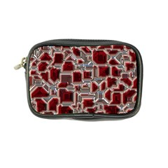 Metalart 23 Red Silver Coin Purse