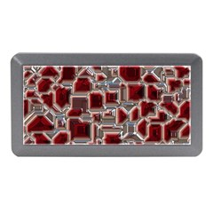 Metalart 23 Red Silver Memory Card Reader (Mini)
