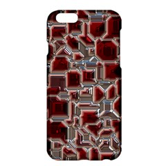 Metalart 23 Red Silver Apple Iphone 6/6s Plus Hardshell Case