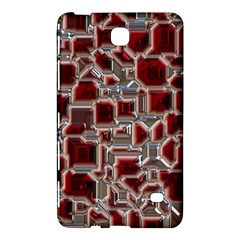 Metalart 23 Red Silver Samsung Galaxy Tab 4 (8 ) Hardshell Case