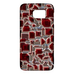 Metalart 23 Red Silver Galaxy S6
