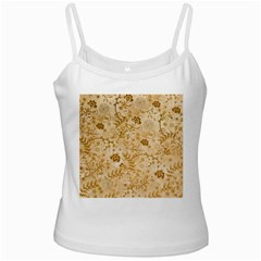 Flower Pattern In Soft  Colors Ladies Camisoles
