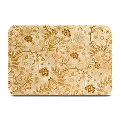 Flower Pattern In Soft  Colors Plate Mats