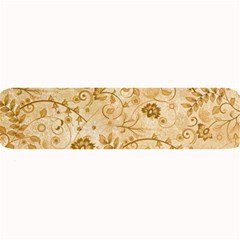 Flower Pattern In Soft  Colors Large Bar Mats