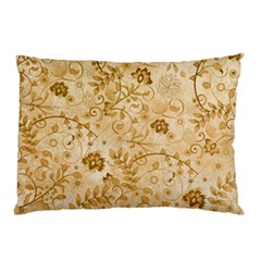 Flower Pattern In Soft  Colors Pillow Cases