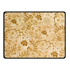 Flower Pattern In Soft  Colors Fleece Blanket (small)
