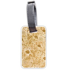 Flower Pattern In Soft  Colors Luggage Tags (One Side)