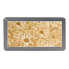Flower Pattern In Soft  Colors Memory Card Reader (Mini)