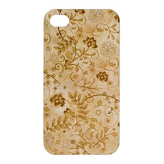 Flower Pattern In Soft  Colors Apple iPhone 4/4S Hardshell Case