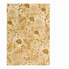 Flower Pattern In Soft  Colors Small Garden Flag (two Sides)